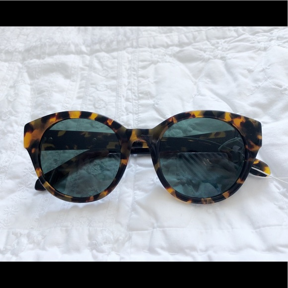 9d4464a3a9f2 Karen Walker anywhere round sunglasses tortoise